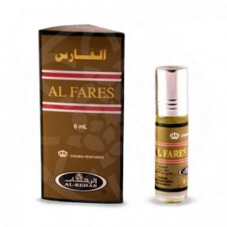 Арабские масляные духи Al-Fares | 6 мл | Al-Rehab | Мужской